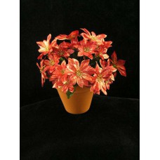 Poinsettia Bouquet, red (lot of 12)