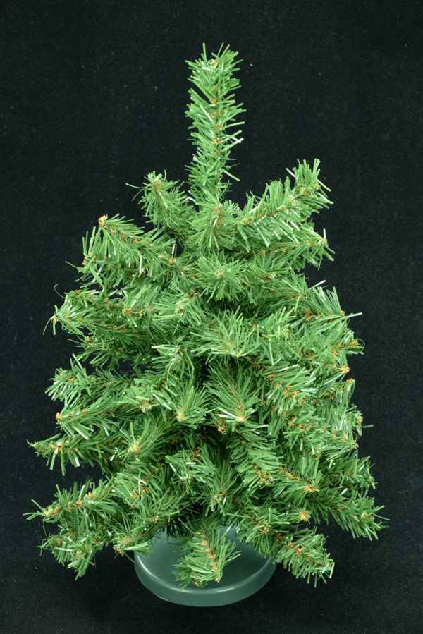 green canadian pine tabletop christmas tree 60 tips 12 inch lot of 1 pc sale item - 12 Inch Christmas Tree