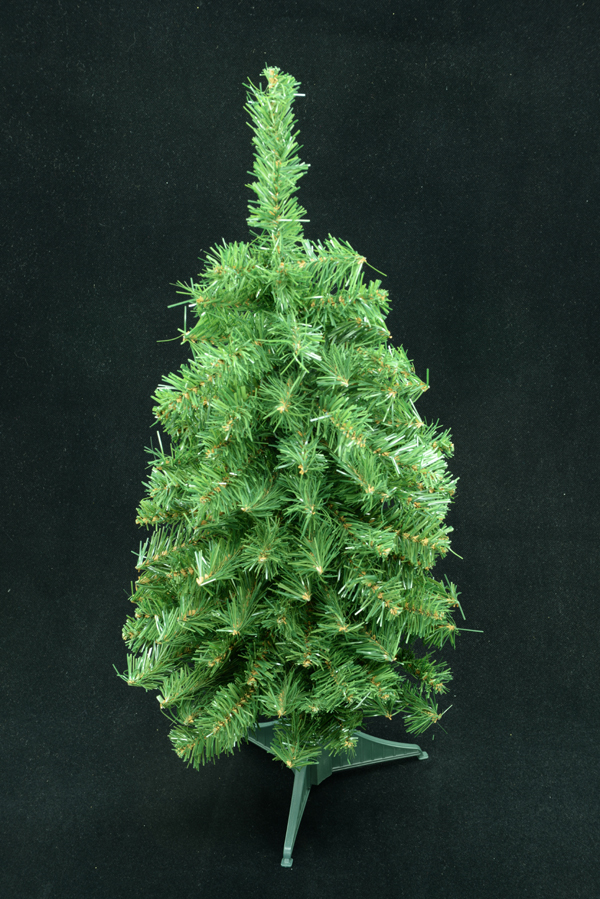 Tabletop Christmas Tree.Green Canadian Pine Tabletop Christmas Tree 80 Tips 24 Inch Lot Of 24 Pc Sale Item