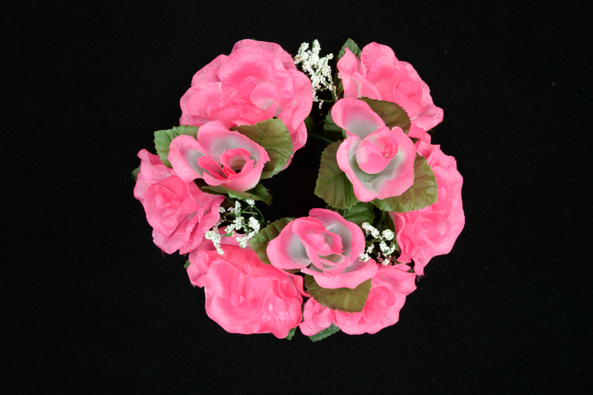 Silk Flowers By Color Pink Rose Fuchsia
