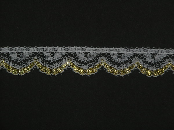 BROWN~3 Inch Wide Floral Flat Lace Trim~By 5 Yards