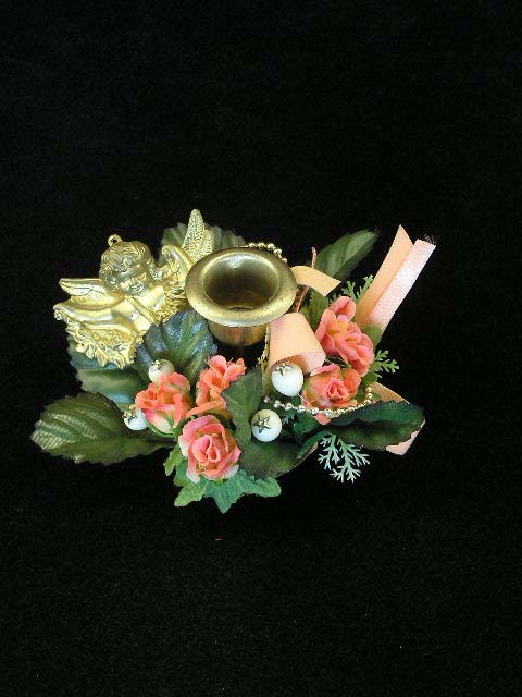 Floral Candlestick Rings