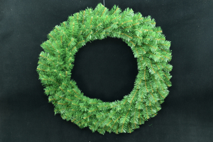 Canadian Pine Wreath - 180 Tips, 24 inch (lot of 1) SALE ITEM
