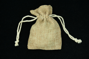 "3""X4"" Burlap Pouches (lot of 6) SALE ITEM"