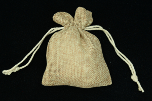 "4""X5"" Burlap Pouches (lot of 6) SALE ITEM"