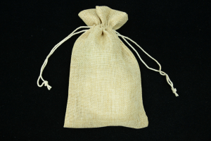 "6""X9"" Burlap Pouches (lot of 6) SALE ITEM"