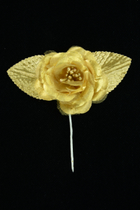 Gold Open Rose  (Lot of 12) SALE ITEM