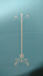 White Floor Candelabra  (Lot of 1) SALE ITEM