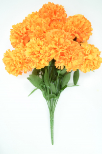 Orange Carnation Bush x12  (Lot of 1) SALE ITEM