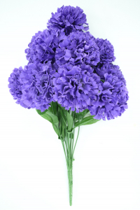 Purple Carnation Bush x12  (Lot of 1) SALE ITEM