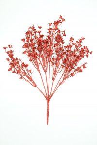 Red Glitter Grass Bush x7 (Lot of 1) SALE ITEM