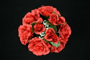 Red 3 Inch Candle Ring (Lot of 1) SALE ITEM
