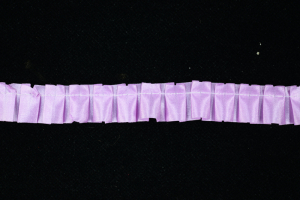 .75 Inch Lavender Pleated Ribbon (25 Yards) SALE ITEM