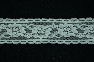 1.75 Inch Flat Lace, Nu Gray (10 yards)