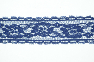 1.75 Inch Flat Lace, Navy (10 yards) MADE IN USA