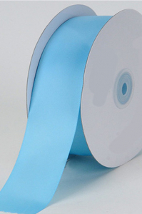 Single Faced Satin Ribbon , Light Blue, 1/4 Inch x 25 Yards (1 Spool) SALE ITEM
