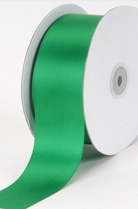 Single Faced Satin Ribbon , Emerald, 5/8 Inch x 25 Yards (1 Spool) SALE ITEM