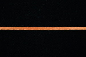 Double Faced Satin Ribbon , Orange 1/8 Inch x 100 Yards (1 Spool) SALE ITEM