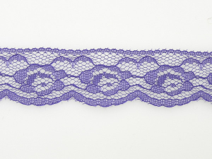 1.25 inch Flat Lace, Purple (50 yards) 2611 Purple 4016