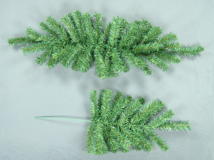 Artificial Green Canadian Pine Pick x 24 (LOT OF 12PC)  SALE ITEM