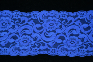 4.5 inch Flat Lace, Royal Blue (25 yards)