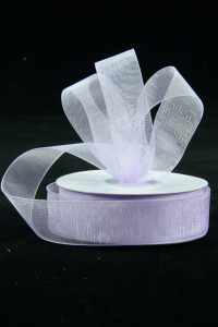 Organza Ribbon , Lavender, 7/8 Inch x 25 Yards (1 Spool) SALE ITEM