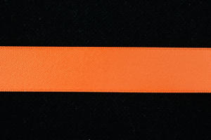 Single Faced Satin Ribbon , Orange, 7/8 Inch x 100 Yards (1 Spool) SALE ITEM