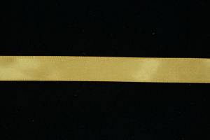 Single Faced Satin Ribbon , Old Gold, 7/8 Inch x 100 Yards (1 Spool) SALE ITEM