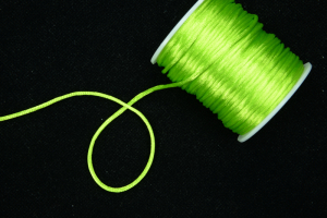 Round Satin Cord, Kiwi , 2.5mm x 40 Meters / 43.74 Yards (1 Spool) SALE ITEM