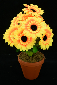 Silk Flowers Silk Flower Bushes By Color Yellow