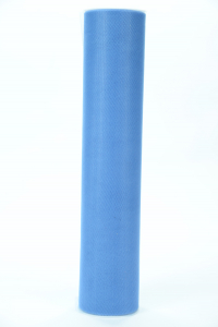 12 Inches Wide x 25 Yard Tulle, Smoke Blue (1 Spool) SALE ITEM