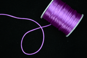 Round Satin Cord, Royal Lilac, 1.5mm x 76 Meters / 83.11 Yards (1 Spool) SALE ITEM