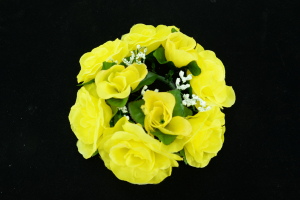 Silk Flowers By Color Yellow