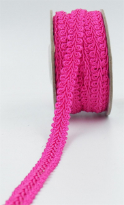 GIMP BRAID TRIM, Hot Pink, 5/8 Inch x 10 Yards (1 Spool) SALE ITEM