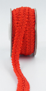 GIMP BRAID TRIM, Red, 5/8 Inch x 10 Yards (1 Spool) SALE ITEM