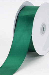 Single Faced Satin Ribbon , Hunter, 1/4 Inch x 25 Yards (1 Spool) SALE ITEM