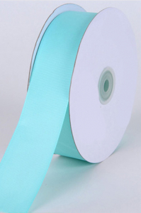 Single Faced Satin Ribbon , Aqua, 5/8 Inch x 25 Yards (1 Spool) SALE ITEM