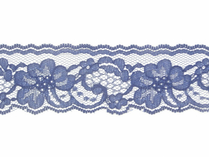 2 Inch Flat Lace, Navy Blue (457 Yards - FULL SPOOL) MADE IN USA