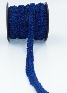 GIMP BRAID TRIM, Navy, 3/8 Inch x 10 Yards (1 Spool) SALE ITEM