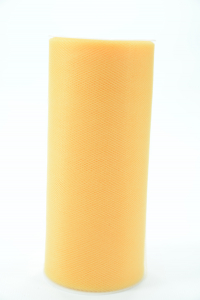 6 Inches Wide x 25 Yard Tulle, Yellow (1 Spool) SALE ITEM