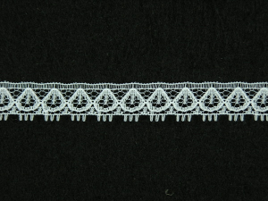 .5 inch Flat Lace, White (100 yards) 1247 White MADE IN USA