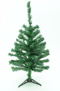 Green Canadian Pine Tabletop Christmas Tree 60 Tips, 24 Inch (Lot of 1 PC.)   SALE ITEM