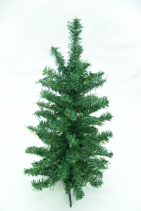 Green Canadian Pine Tabletop Christmas Tree 80 Tips, 24 Inch (Lot of 1 PC.) SALE ITEM