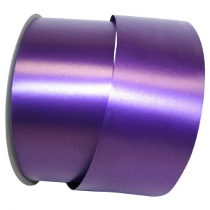 Purple, Embossed, Polypropylene, Florentine Ribbon 2 ½ Inch x 100 yds., (1 Spool) SALE ITEM