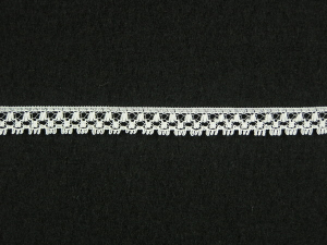 .375 inch Flat Lace, Ivory (100 yards) MADE IN USA