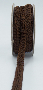 GIMP BRAID TRIM, Brown, 3/8 Inch x 10 Yards (1 Spool) SALE ITEM