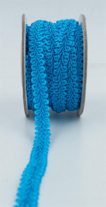 GIMP BRAID TRIM, Turquoise, 3/8 Inch x 10 Yards (1 Spool) SALE ITEM