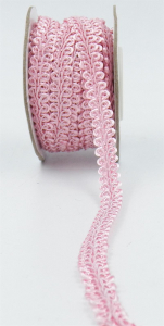 GIMP BRAID TRIM, Lt. Pink, 3/8 Inch x 10 Yards (1 Spool) SALE ITEM