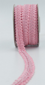 GIMP BRAID TRIM, Lt. Pink, 5/8 Inch x 10 Yards (1 Spool) SALE ITEM