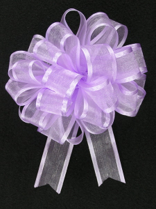 Pull A Bow Ribbon , Lavender, 7/8 Inch x 25 Yards (1 Spool) SALE ITEM